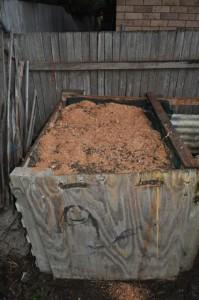 A sawdust cap